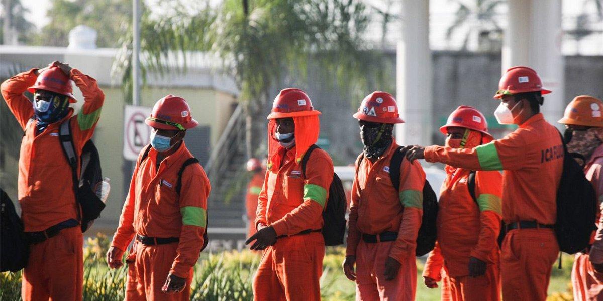 Senadores de Morena piden a sindicatos de la refinería Dos Bocas no confrontar y provocar violencia