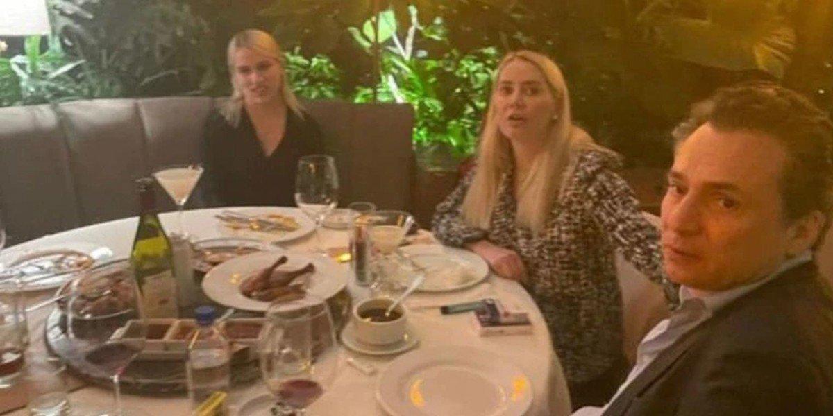 ¿Con qué miembro de una familia poderosa en México cenaba Emilio Lozoya en restaurante de lujo?