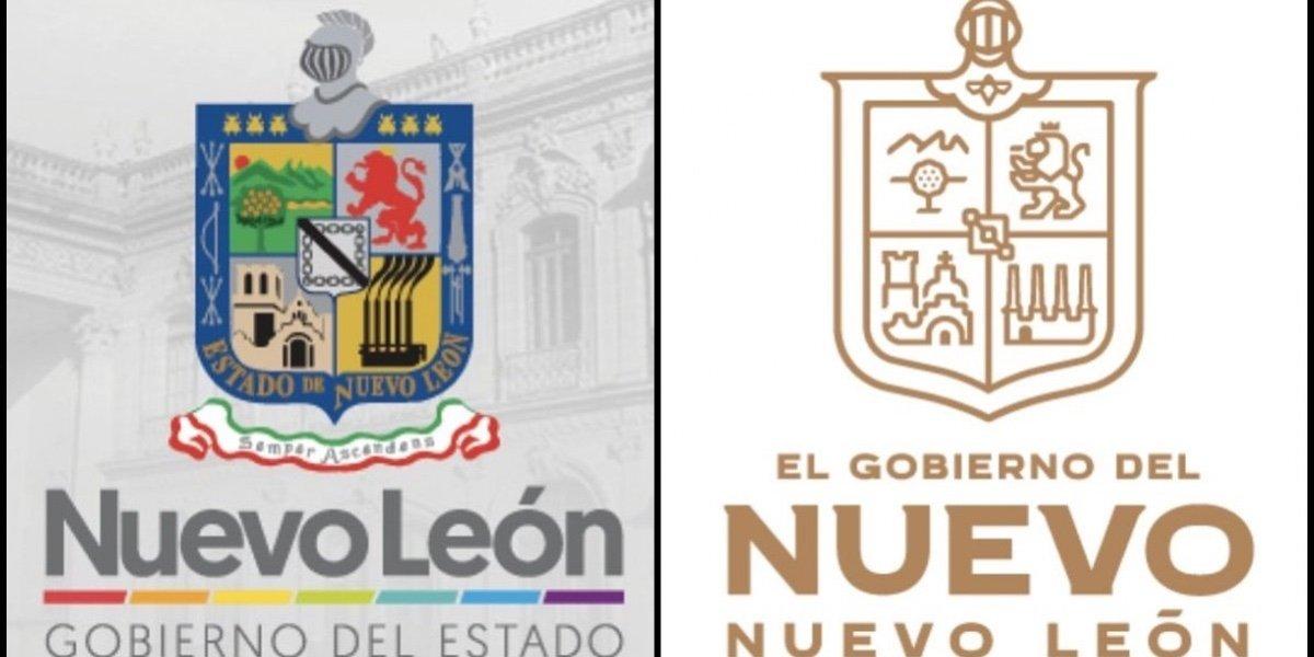 Samuel García genera polémica por cambios al escudo de Nuevo León