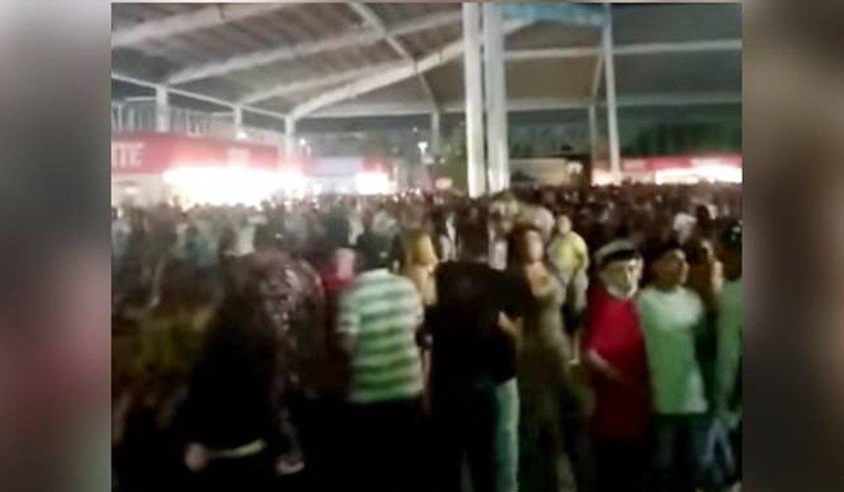 Estampida en concierto en Nuevo León casi termina en tragedia