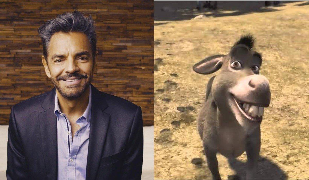 Eugenio Derbez enfrentó una demanda por cantar 'Mesa que más aplauda' al interpretar a Burro en Shrek 2