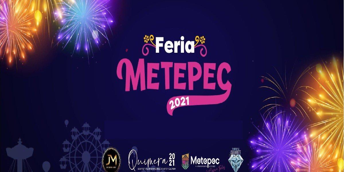 Esta podría ser la fecha y  el cartel de los posibles artistas para la Feria de Metepec 2021