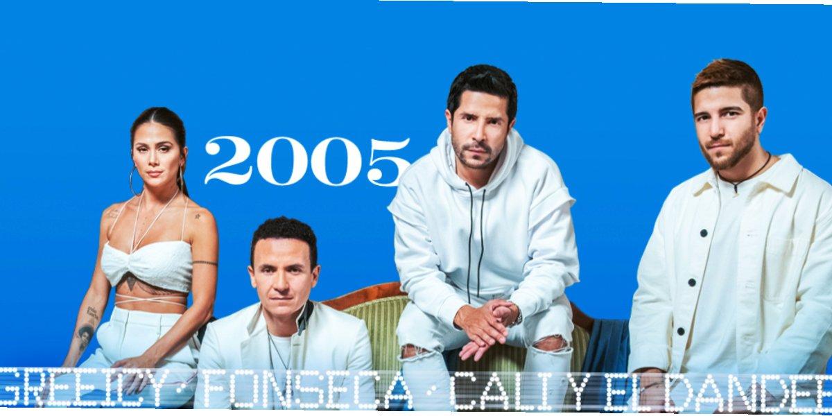 Fonseca estrena 2005, su nueva colaboración junto a Greeicy, Cali y El Dandee