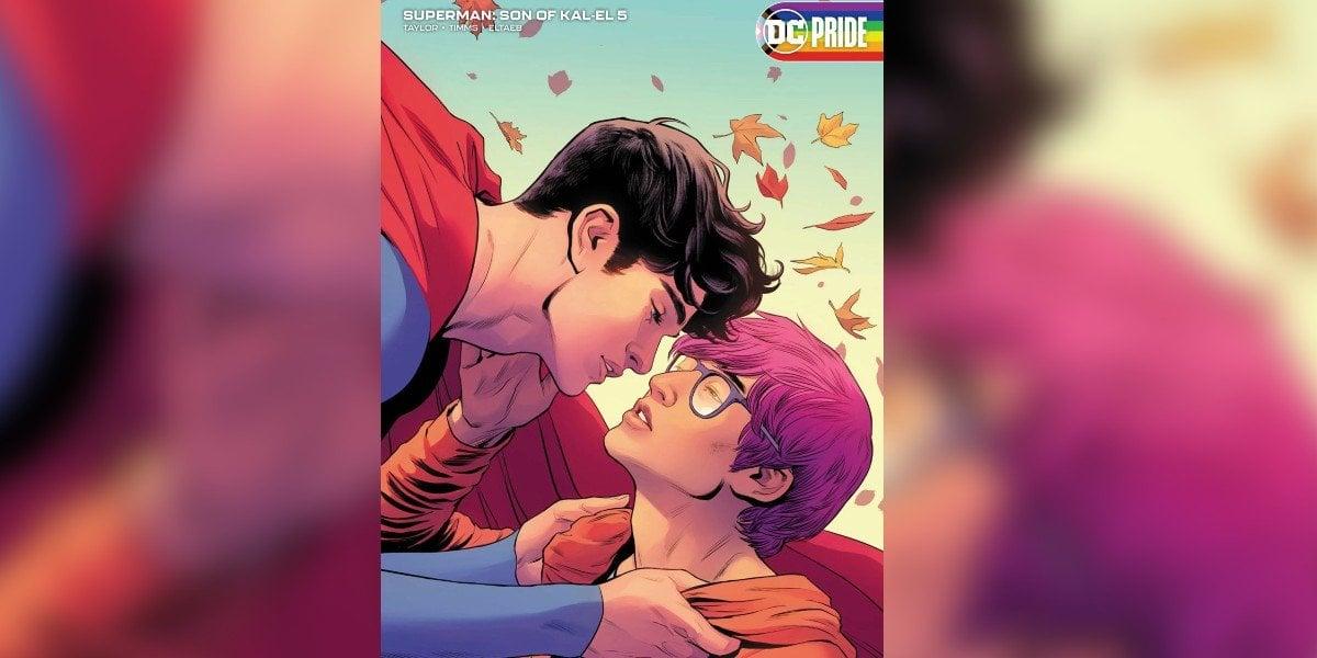 DC revela que Jon Kent, hijo de Superman es bisexual en el nuevo cómic