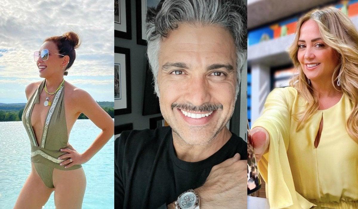 Revelan presunto encuentro sexual entre Jaime Camil con Thalia y Andrea Legarreta