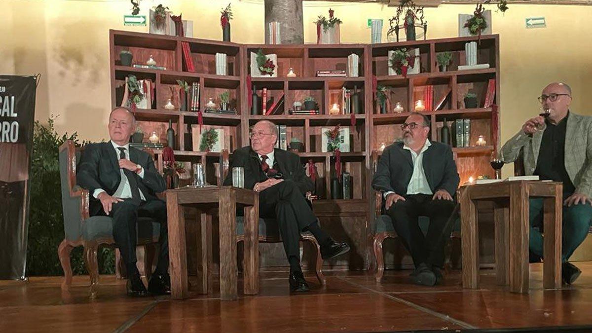Javier Coello presentó su libro de memorias El Fiscal de Hierro