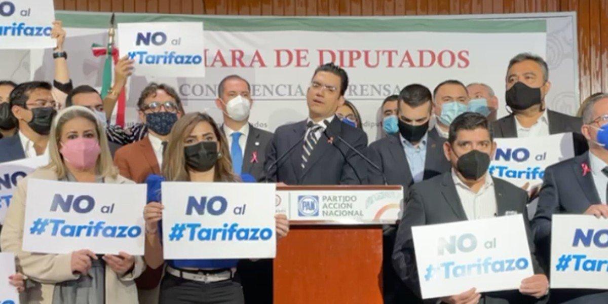 'Si el PRI respalda reforma eléctrica de AMLO, se acaba Va por México', advierte el PAN