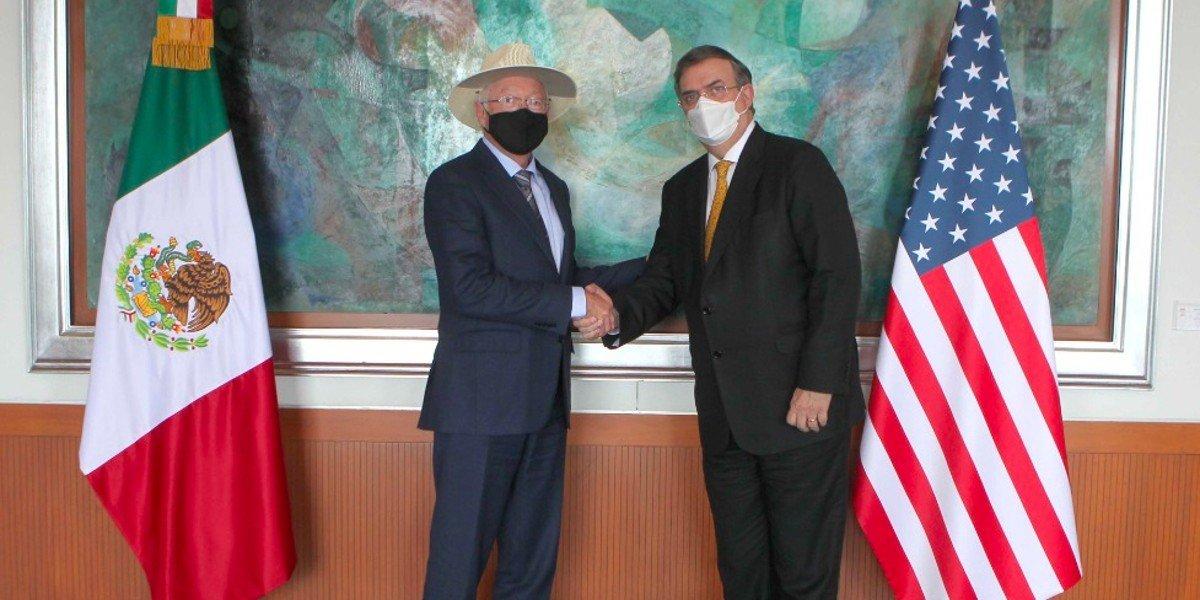 Ken Salazar se reúne con funcionarios de México de cara al Diálogo de Alto Nivel en materia de Seguridad
