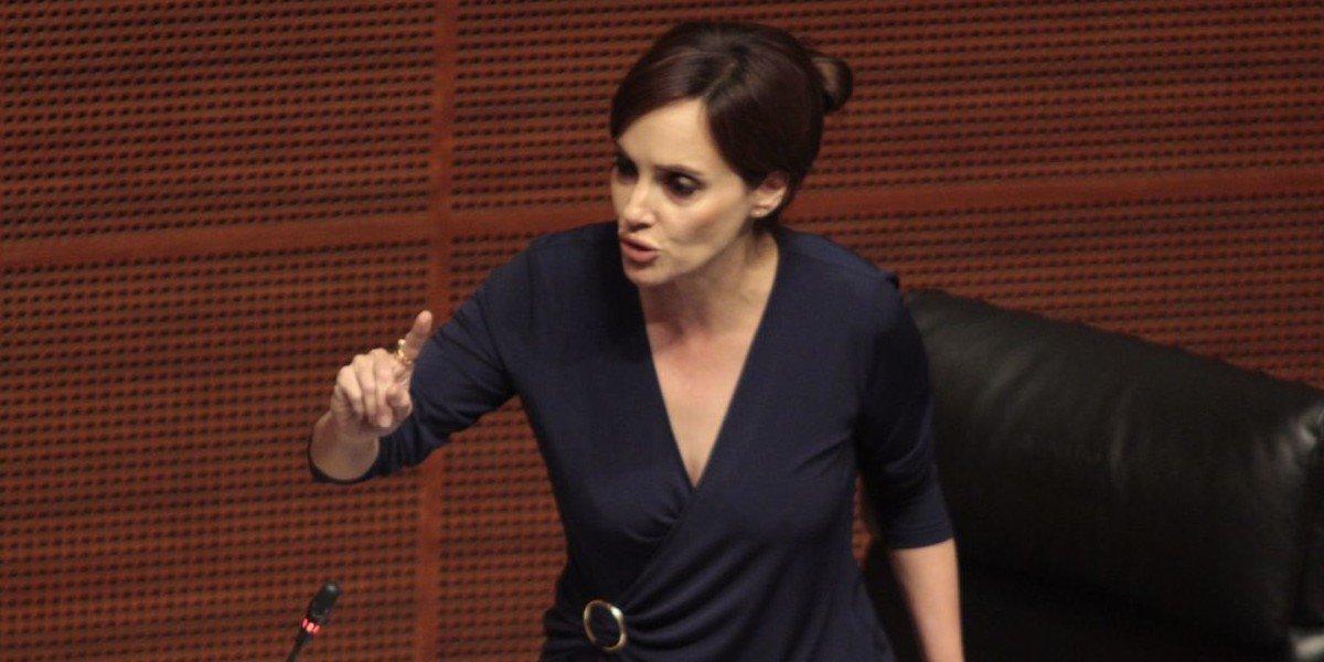 Lilly Téllez denuncia amenazas contra su hijo por supuestos seguidores de senador de Morena