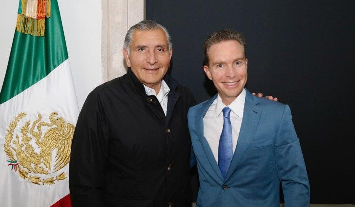 Manuel Velasco se reúne con Adán Augusto: conversamos sobre las reformas necesarias para dar impulso a la transformación