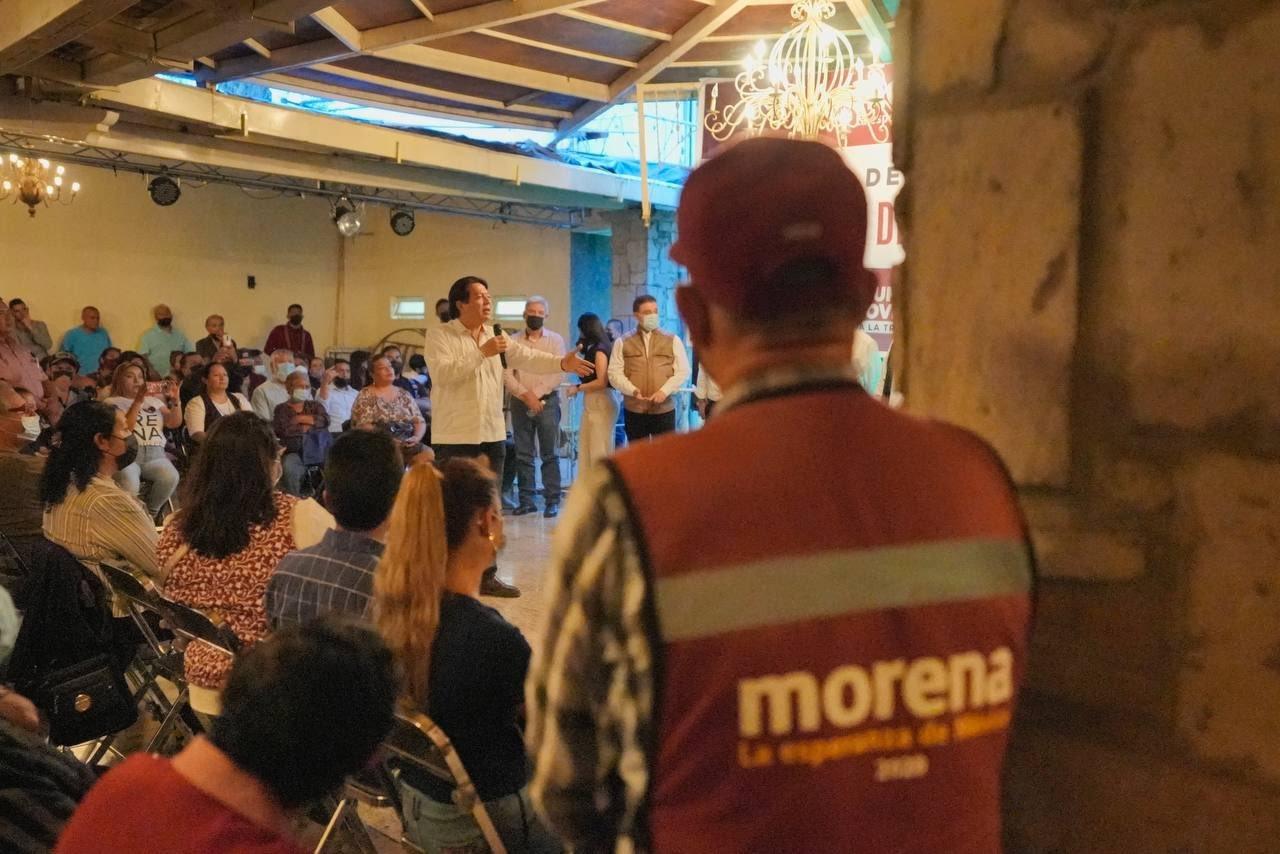 Mario Delgado reafirma que Alberto Maldonado será el candidato de Morena para alcaldía de Tlaquepaque