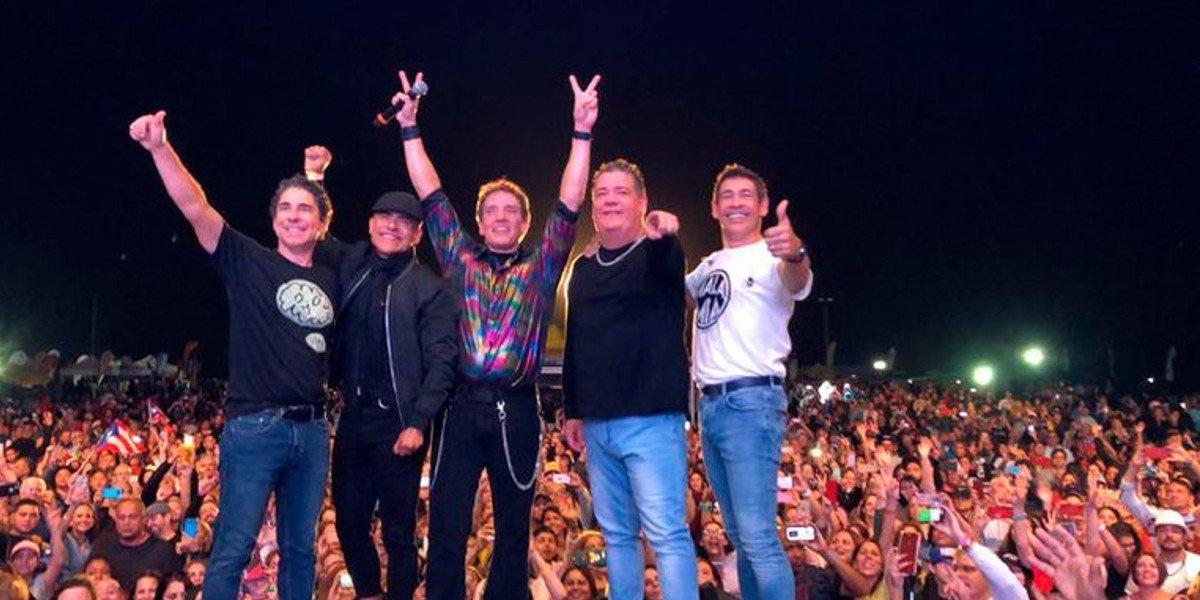 Menudo regresa a México con nuevo tour 'Súbete a mi moto'