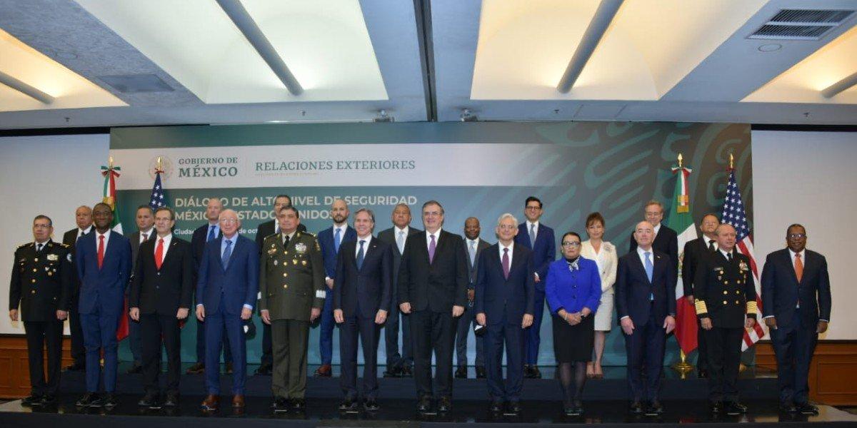 Entendimiento Bicentenario: México y EUA 'renuevan' combate a narco, trata de personas y tráfico de armas