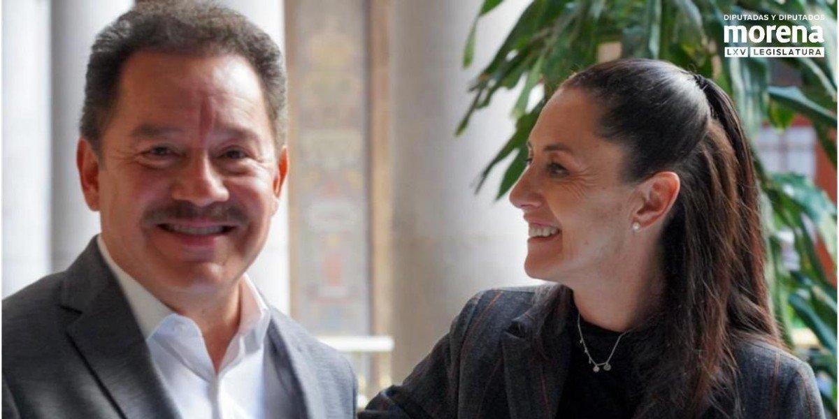 Ignacio Mier se reúne con Sheinbaum para hablar sobre temas de CDMX