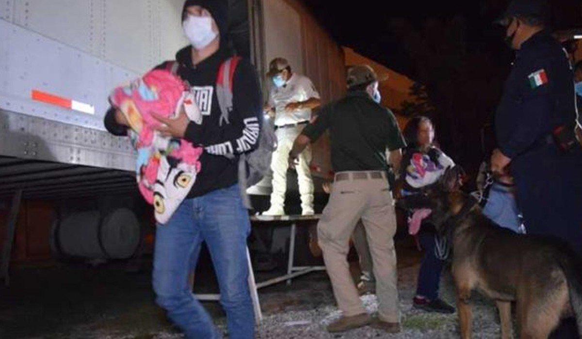 Confirma INM aseguramiento de 800 migrantes centroamericanos en Tamaulipas