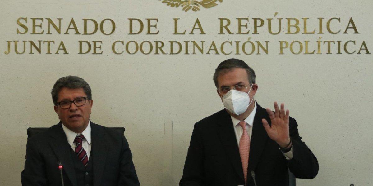Monreal dice que Emilio Lozoya en su 'papel como testigo colaborador debería actuar con prudencia'