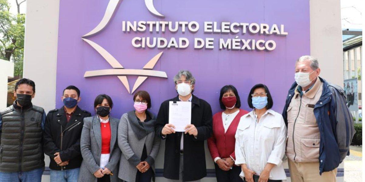 Morena presenta queja contra alcaldesa de Cuauhtémoc; la acusan de promoción partidista