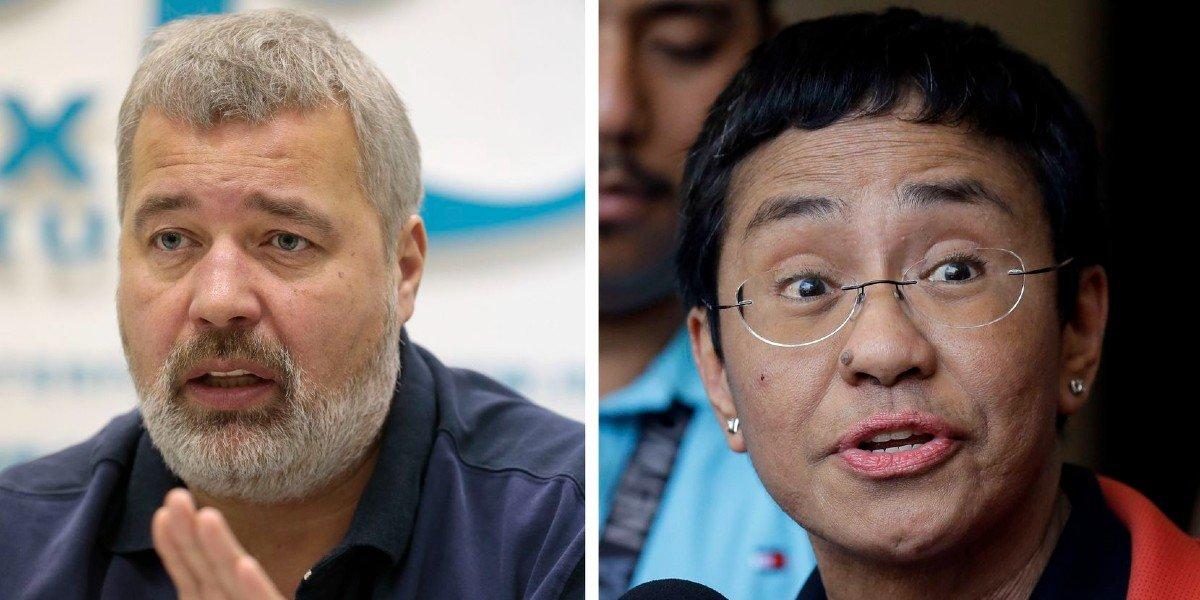 Periodistas de Filipinas y Rusia obtienen el Premio Nobel de la Paz