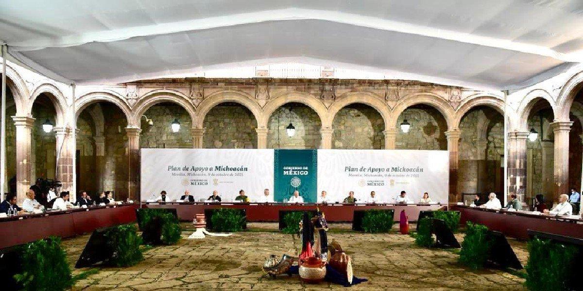 AMLO presenta Plan de Apoyo a Michoacán; sumarán más de 17 mil elementos de Sedena, Guardia Nacional y Policía