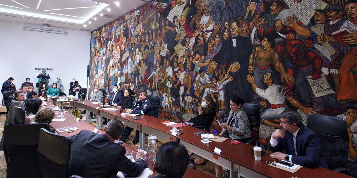 Sheinbaum destaca que hubo cordialidad en reunión de cabildo con los 16 alcaldes