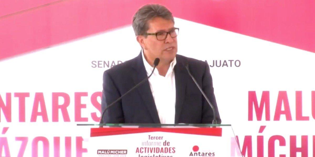 Morena va por Guanajuato, está listo para la alternancia política en 2024, dice Monreal