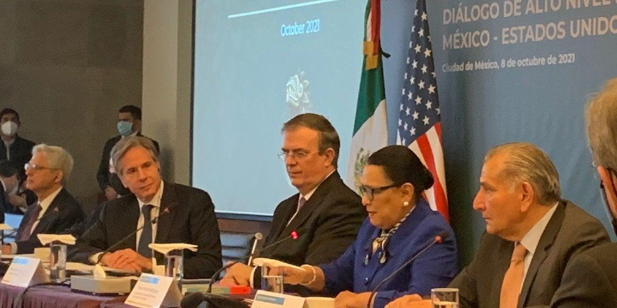 'Seguridad de México y EUA es asunto binacional, bajo principios de soberanía', afirma Rosa Icela