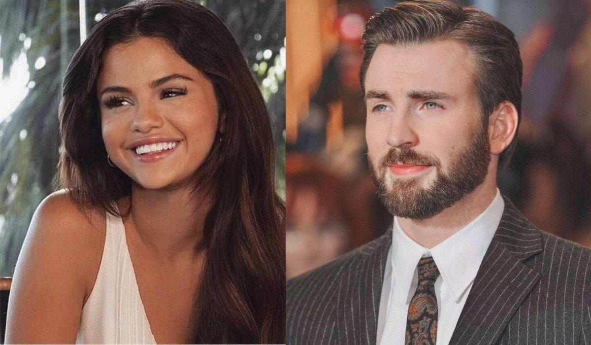 Selena Gomez y Chris Evans encienden rumores en redes de supuesto romance