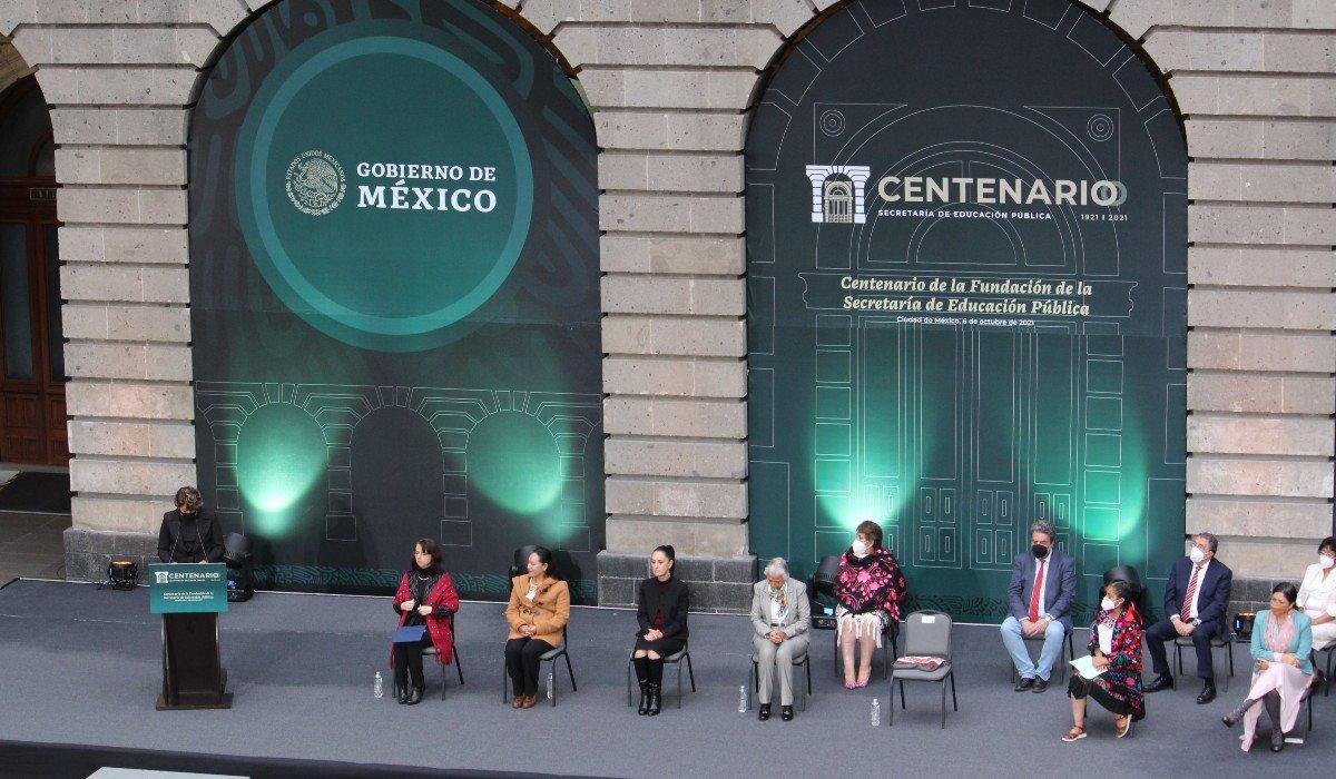 SEP celebra 100 años de su fundación con el anuncio de jornadas de alfabetización