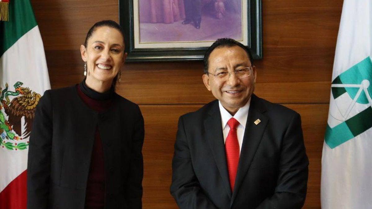 Guerra Álvarez y magistrados del Poder Judicial de CDMX se reúnen con Sheinbaum