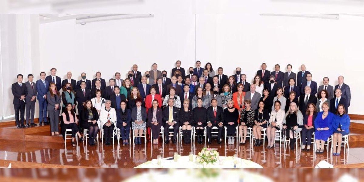 Sheinbaum destaca reunión con Guerra Álvarez y magistrados: hay coordinación y respeto