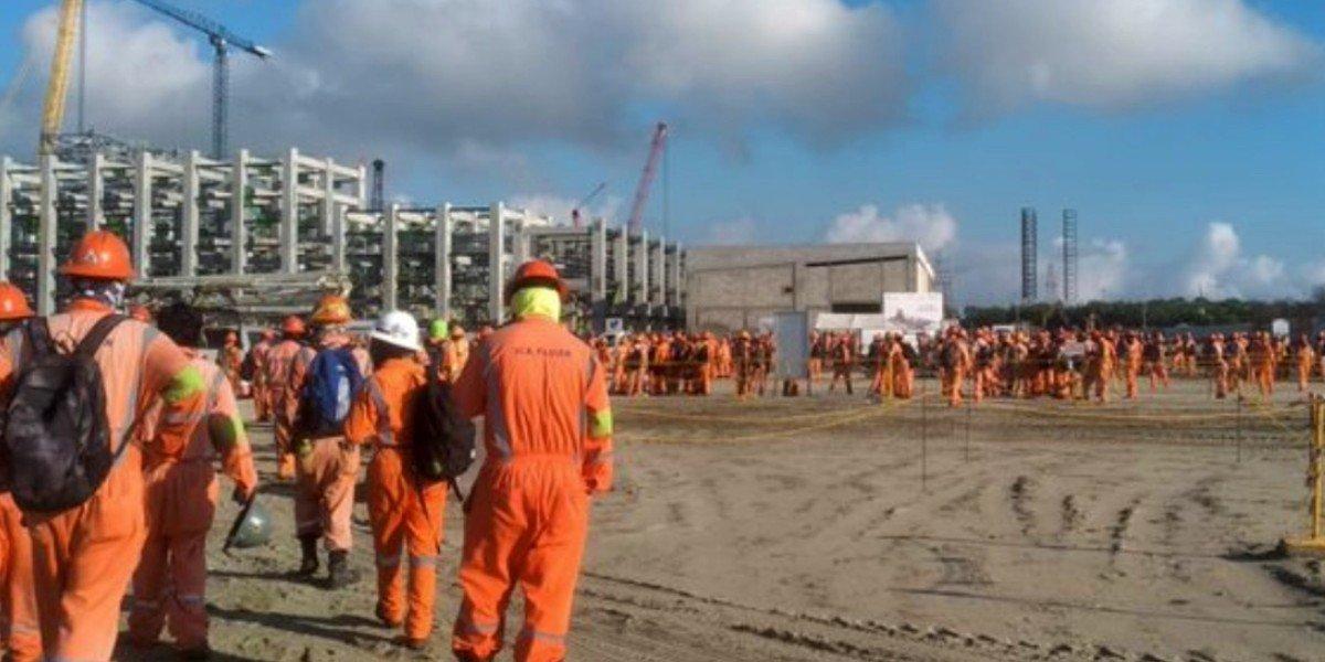 Guardia Nacional se deslinda de agresiones contra trabajadores de refinería de Dos Bocas