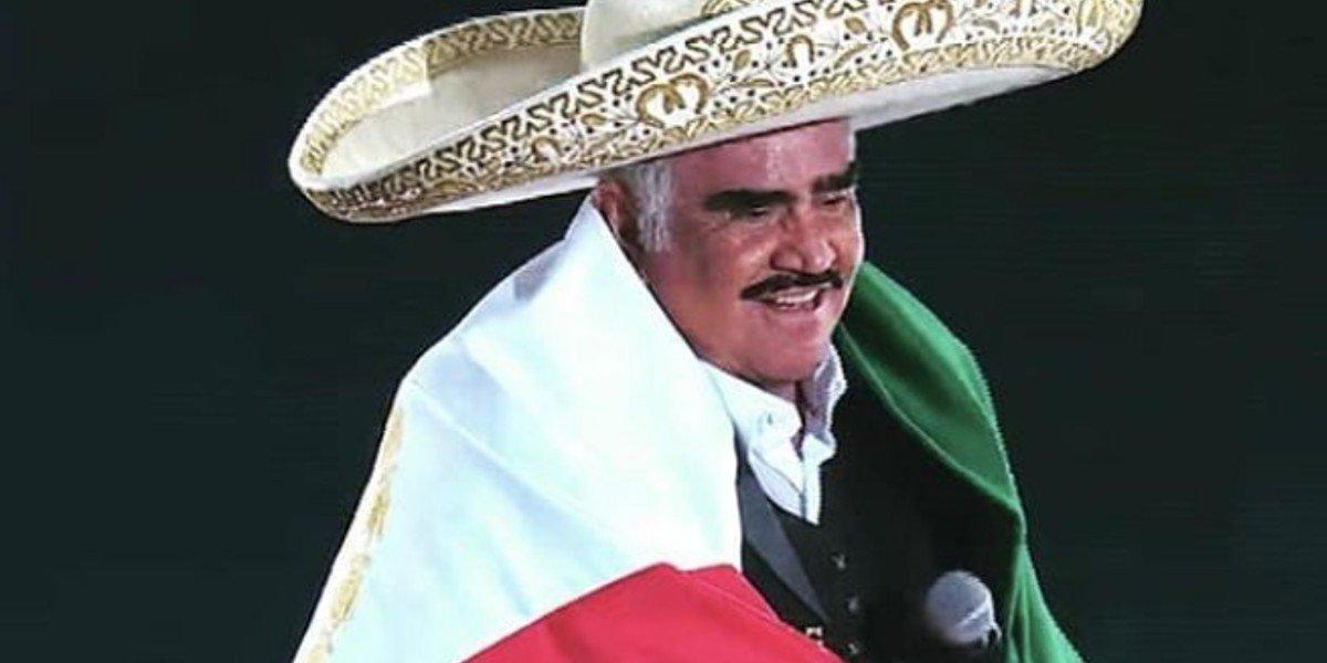 Desmienten muerte cerebral del cantante don Vicente Fernández