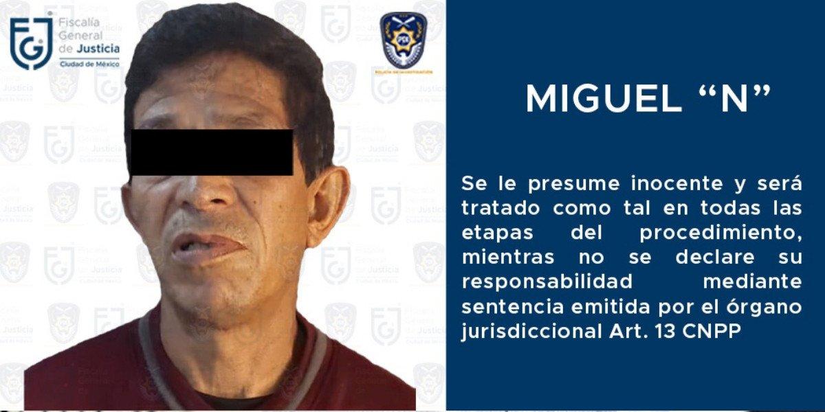 Presunto violador serial en CDMX es vinculado a proceso por un delito distinto: narcomenudeo