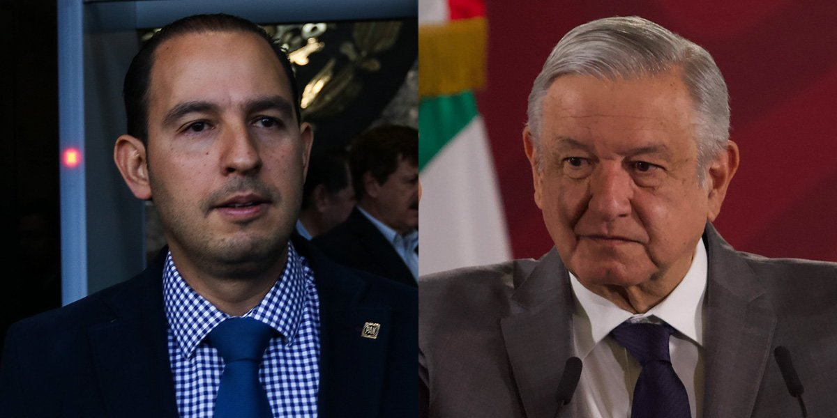 Marko Cortés responde a AMLO: 'promiscuo' aliarse con Manuel Bartlett, impulsor de Salinas