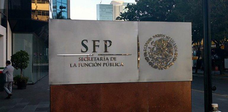 SFP abrió 477 expedientes de investigación en contra de funcionarios públicos federales