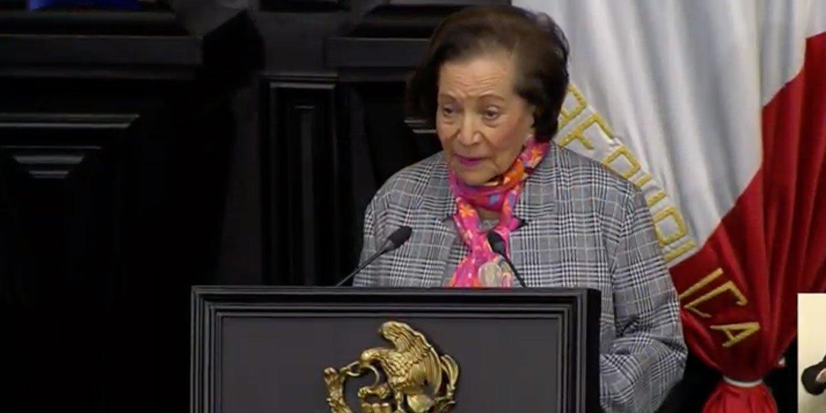 Senado presenta formalmente candidatura de Ifigenia Martínez a medalla Belisario Domínguez