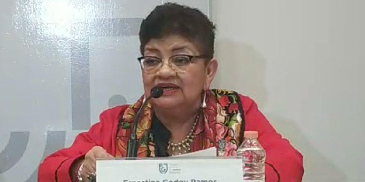 Ernestina Godoy asegura que feminicidios van a la baja en CDMX