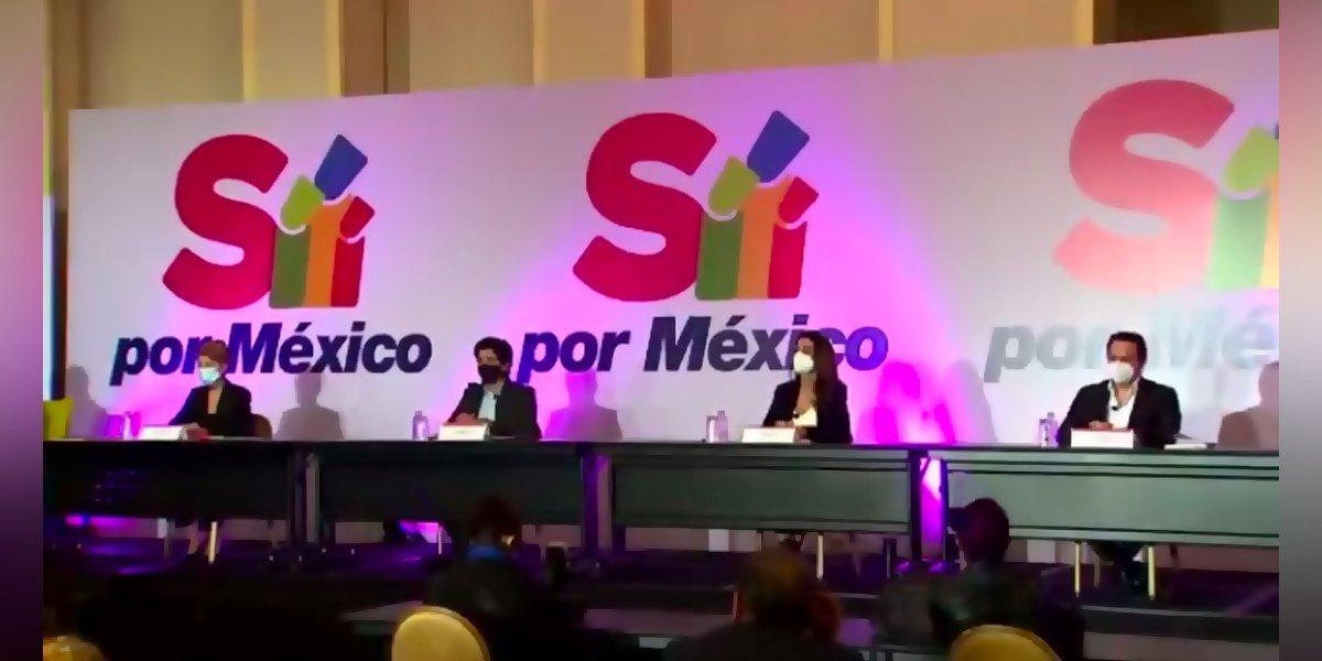 Sí Por México llama a PAN, PRI y PRD a buscar candidato de unidad para las elecciones de 2024