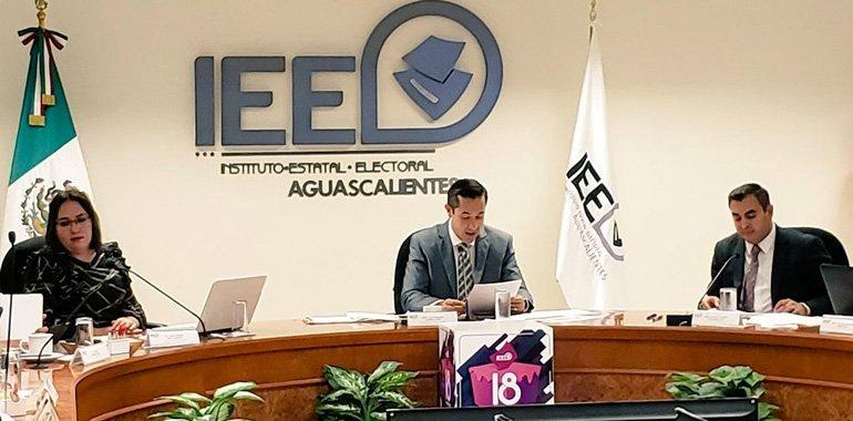 Siete partidos competirán por la gubernatura de Aguascalientes en 2022