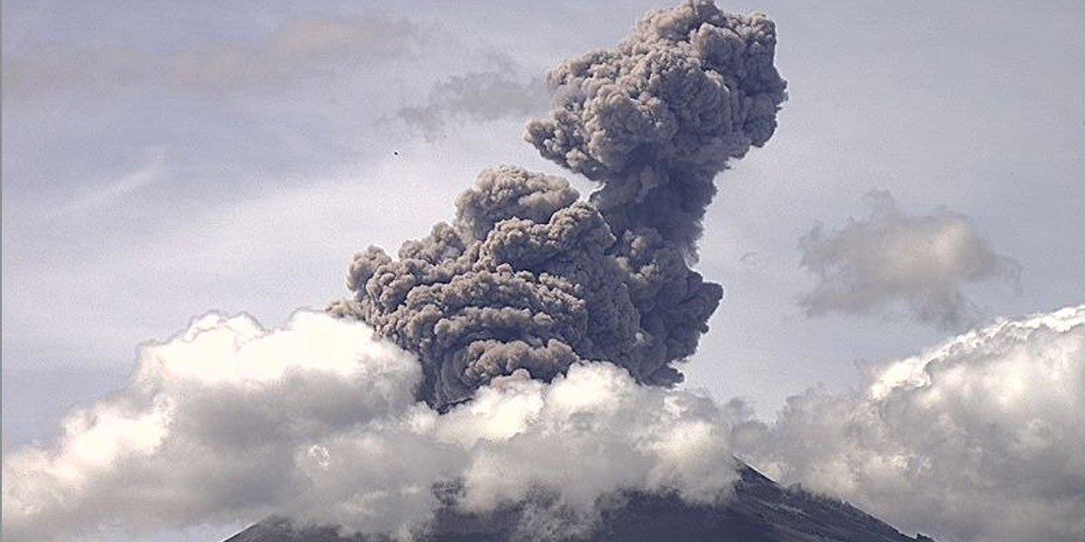 13 alcaldías de CDMX registraron caída de ceniza proveniente del volcán Popocatépetl