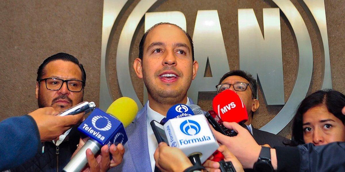 Aprueban solicitud de registro de candidatura a la Presidencia nacional de Marko Cortés