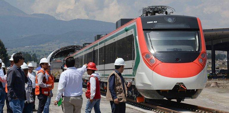 Tren México-Toluca podría concluirse a finales del 2023, destaca la SCT