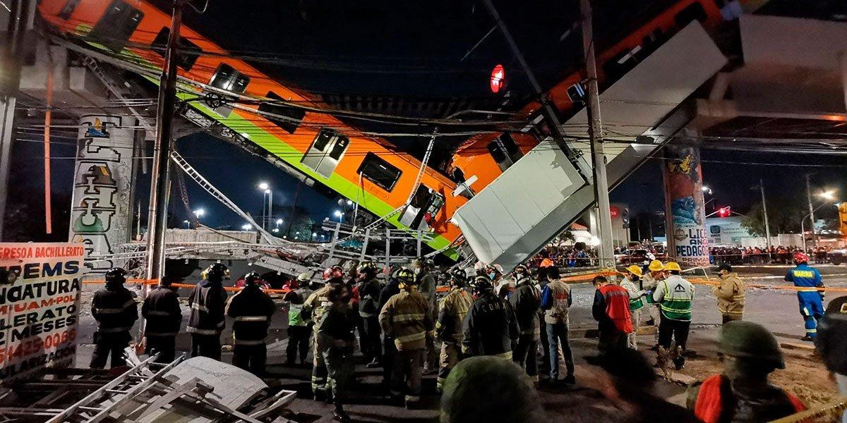 Fiscalía de CDMX concluye que instalación deficiente de pernos y fallas en soldadura causaron colapso en Línea 12