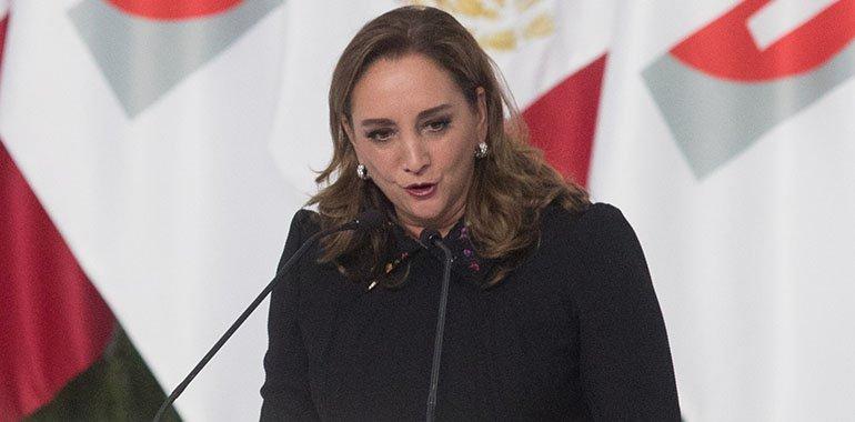 PRI en el Senado no respaldará reforma eléctrica de AMLO, advierte Ruiz Massieu