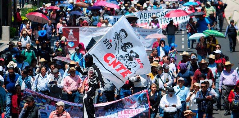 CNTE envía carta a AMLO para solicitar nuevo diálogo sobre las consecuencias de la reforma educativa