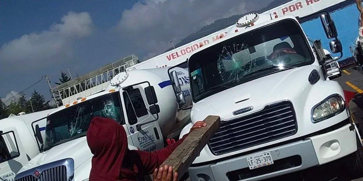 Gaseros del Valle de México no harán bloqueos este martes; seguirá paro de labores