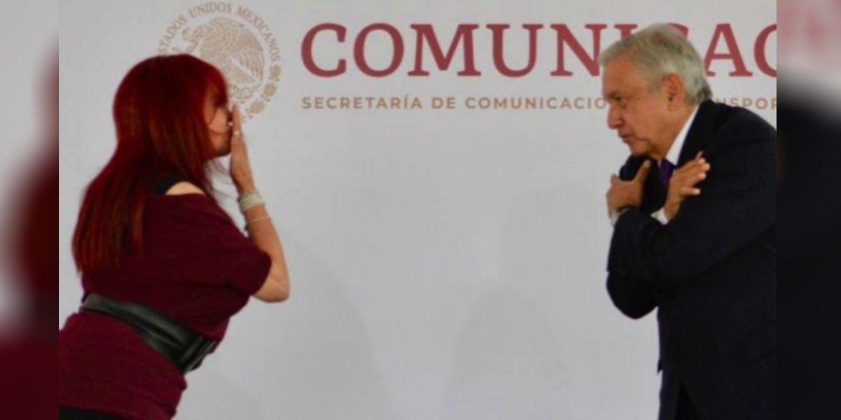 AMLO sostuvo reunión con Layda Sansores y Navarro Quintero, acompañado de su gabinete