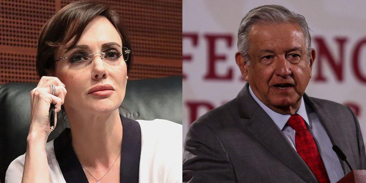'Cuidadito con hacer daño a quien piensa distinto', AMLO rechaza amenazas contra Lilly Téllez