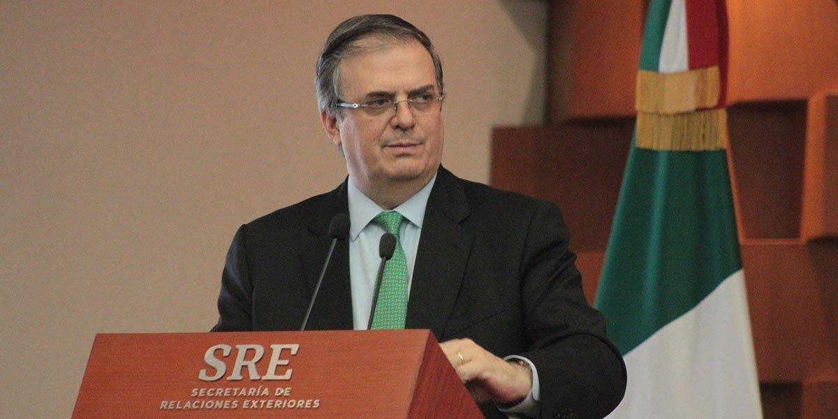 Ebrard afirma que AMLO dirige la política exterior: 'méritos se derivan de sus decisiones'