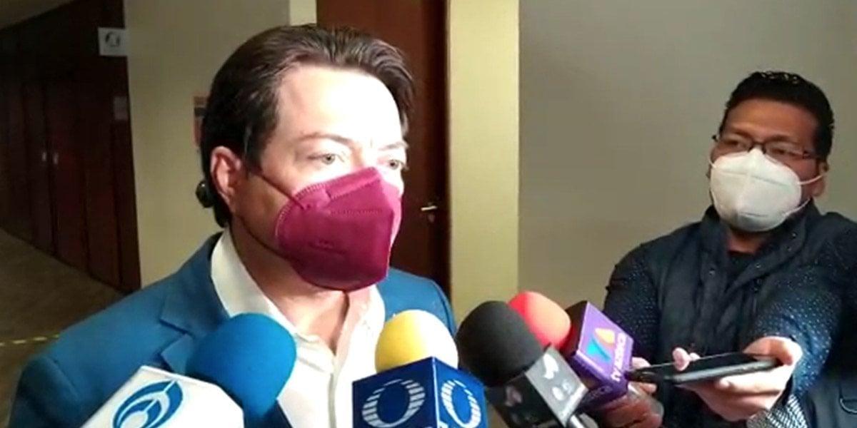 Delgado asegura que Morena está en etapa de reorganización para salir victorioso en revocación de mandato y elección 2022